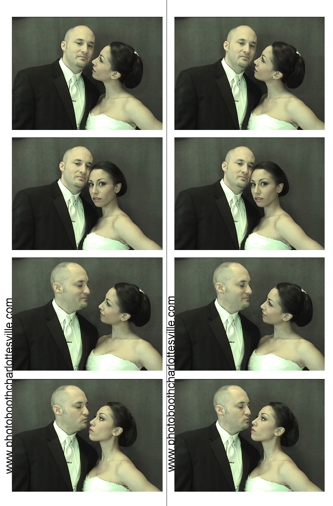 Wedding Photo Booth Charlottesville - Sample Image